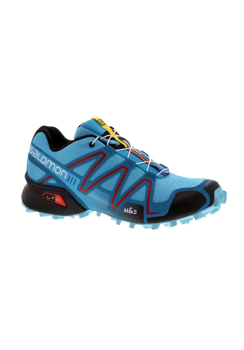 Bleu Salomon Running Femme Chaussures 3 Speedcross Pour MUzSpqVG
