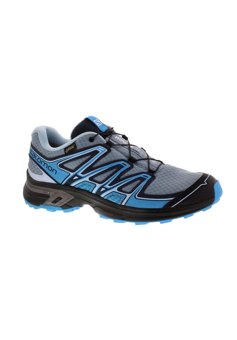 Chaussures Pour Salomon Gtx Flyte Running Wings 2 Femme Gris wnP0k8OX