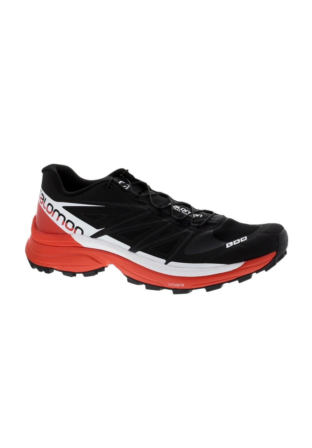 Sg Salomon Chaussures Noir Running Lab S 8 Wings trQhCsd