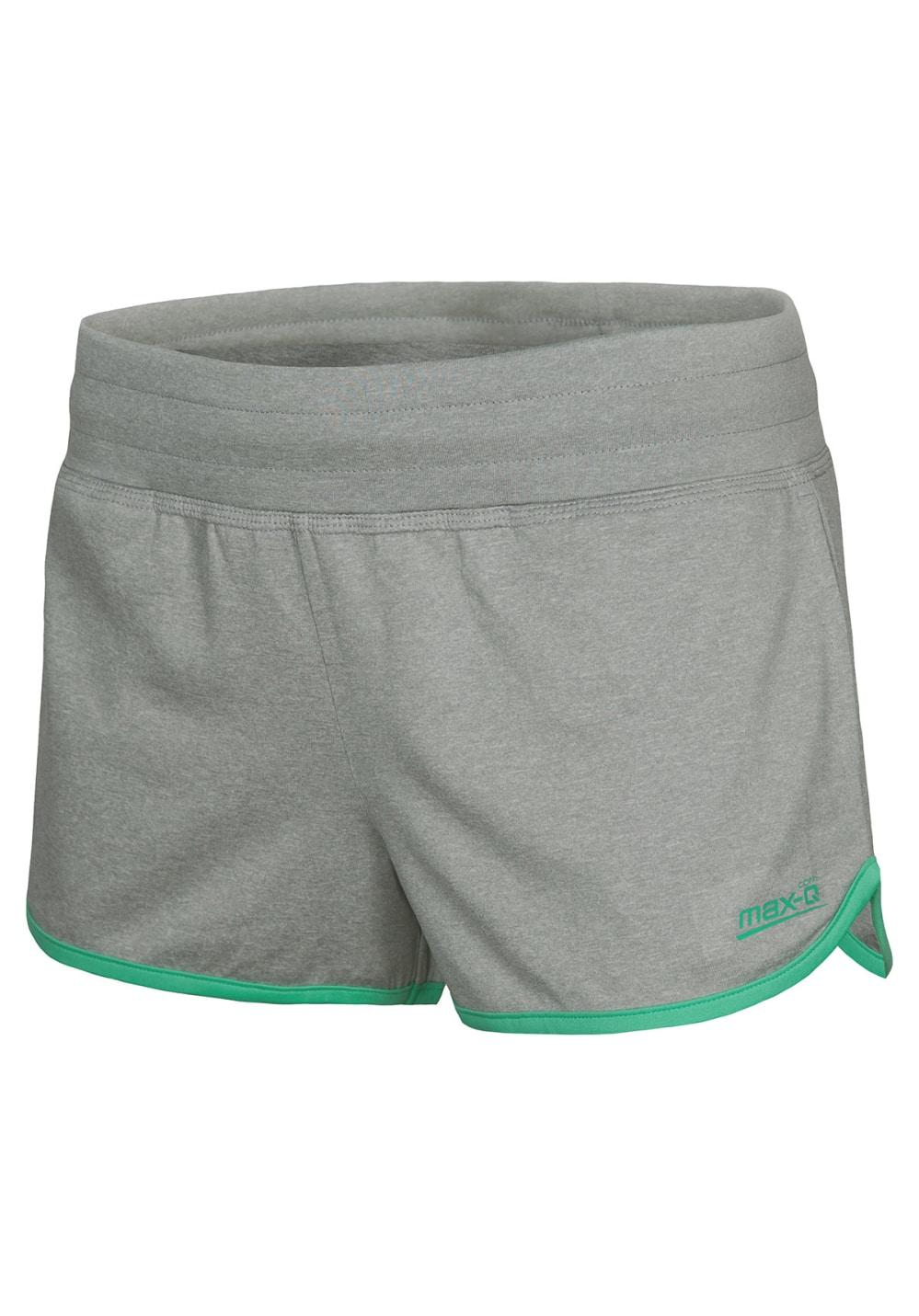 max-Q.com Free Kick X-Fit Short - Laufhosen für Damen - Grau