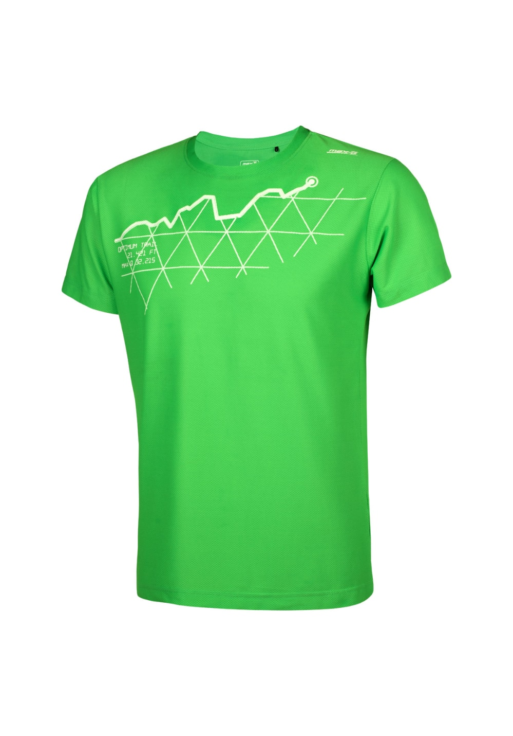 max-Q.com Mountain Run Shirt Hommes Maillot course
