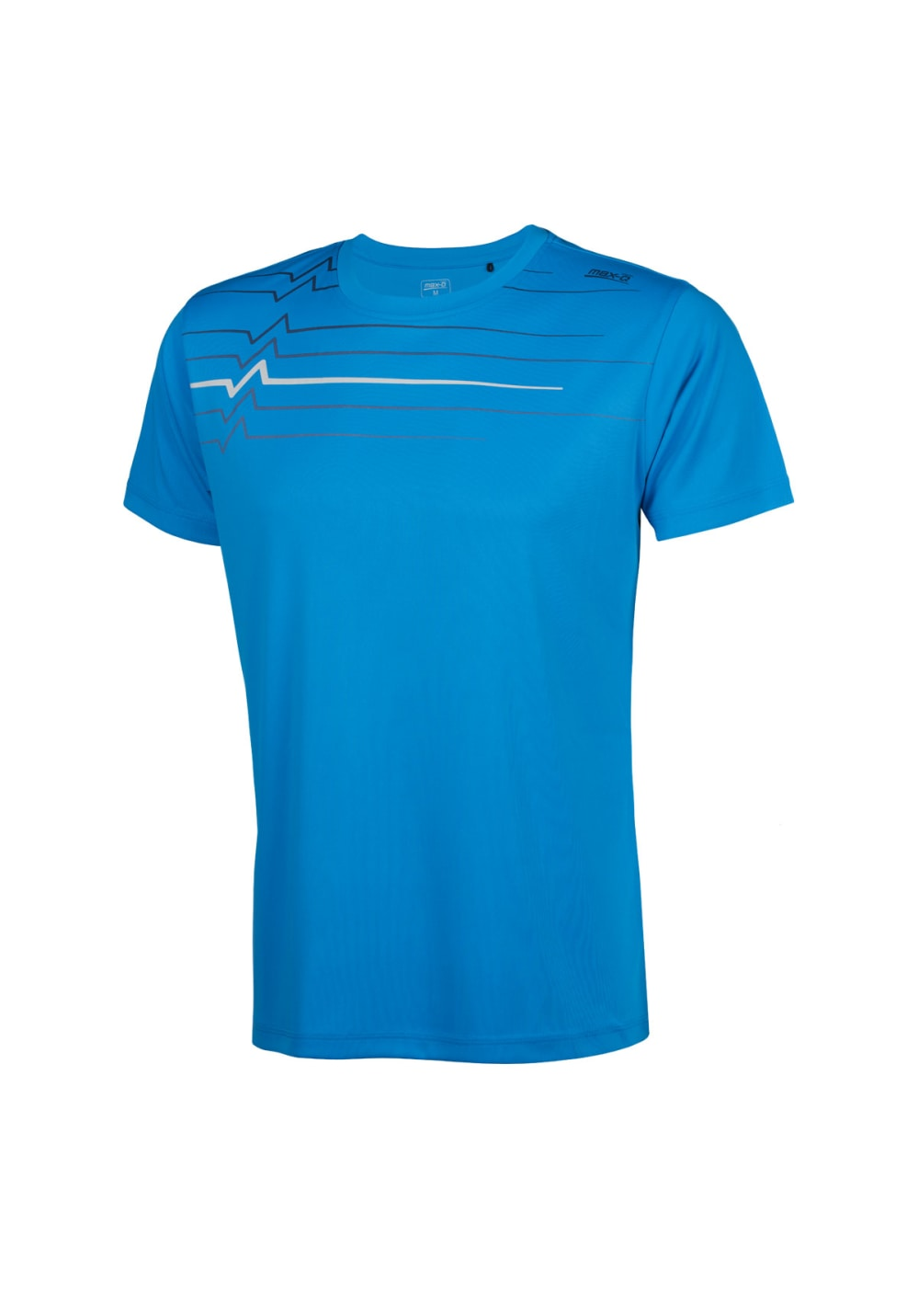 max-Q.com Athlethic Shirt Hommes Maillot course