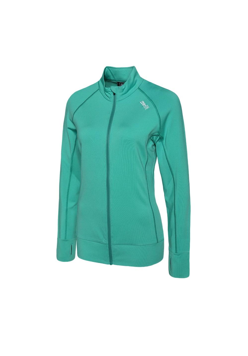 max-Q.com Cross Fun Air Jacket - Laufjacken für Damen - Grün, Gr. M