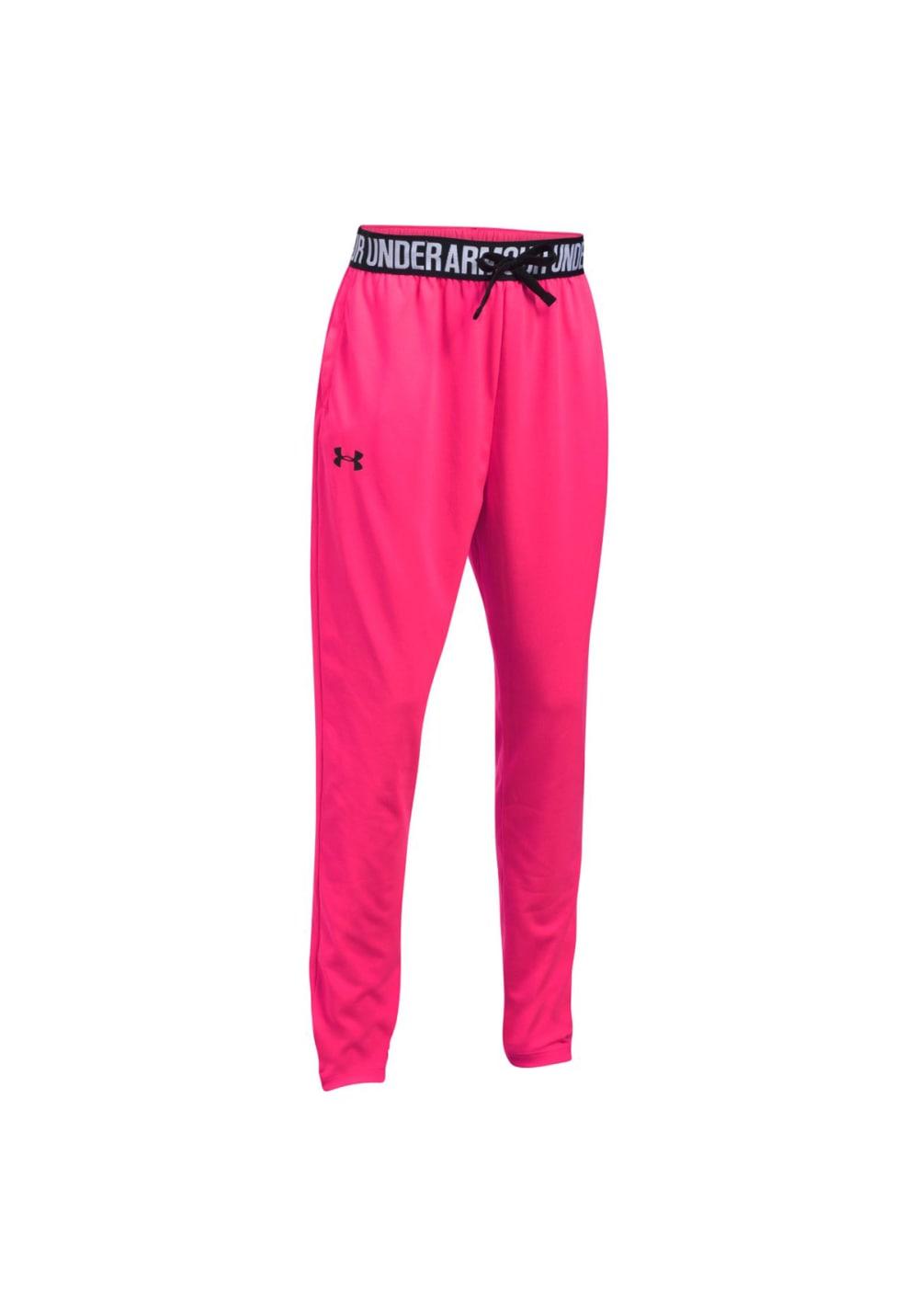 Under Armour Tech Jogger - Fitnesshosen für Kinder Unisex - Pink, Gr. L