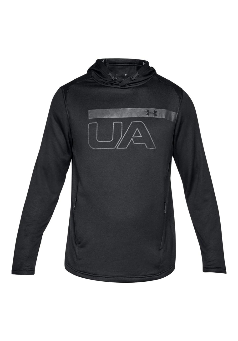 Under Armour MK1 Terry Graphic Hoodie - Sweatshirts & Hoodies für Herren - Schwarz