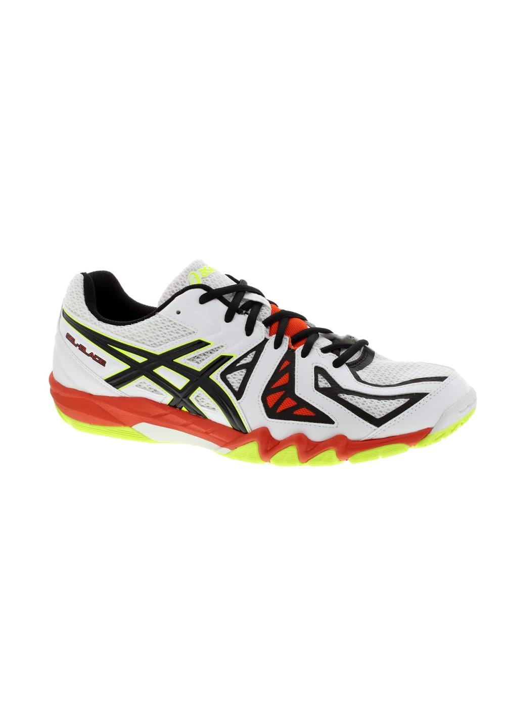 Blanc Homme En 5 Blade Asics Salle Sports Chaussures Gel Pour fzwg8qvP