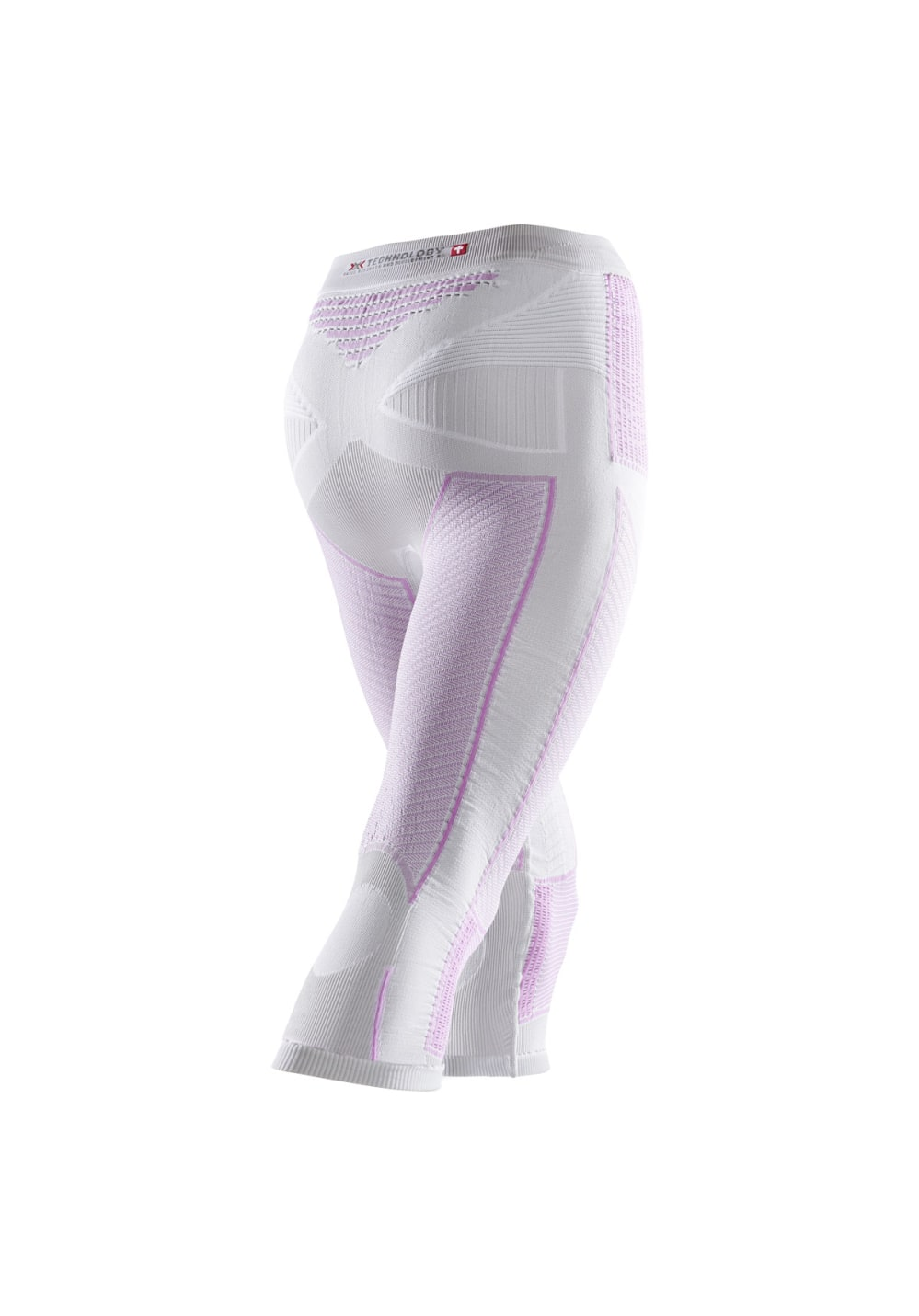 X-Bionic Radiactor Evo Pants Medium - Laufhosen für Damen - Weiß, Gr. XS