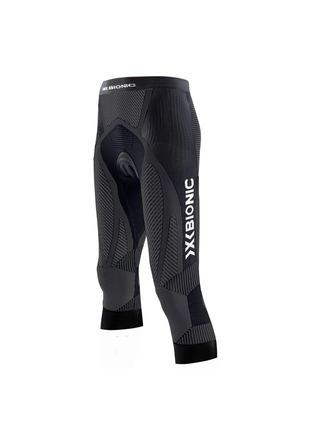 X-Bionic Biking The Trick Pants Medium Comfort - Radhosen für Damen - Schwarz,