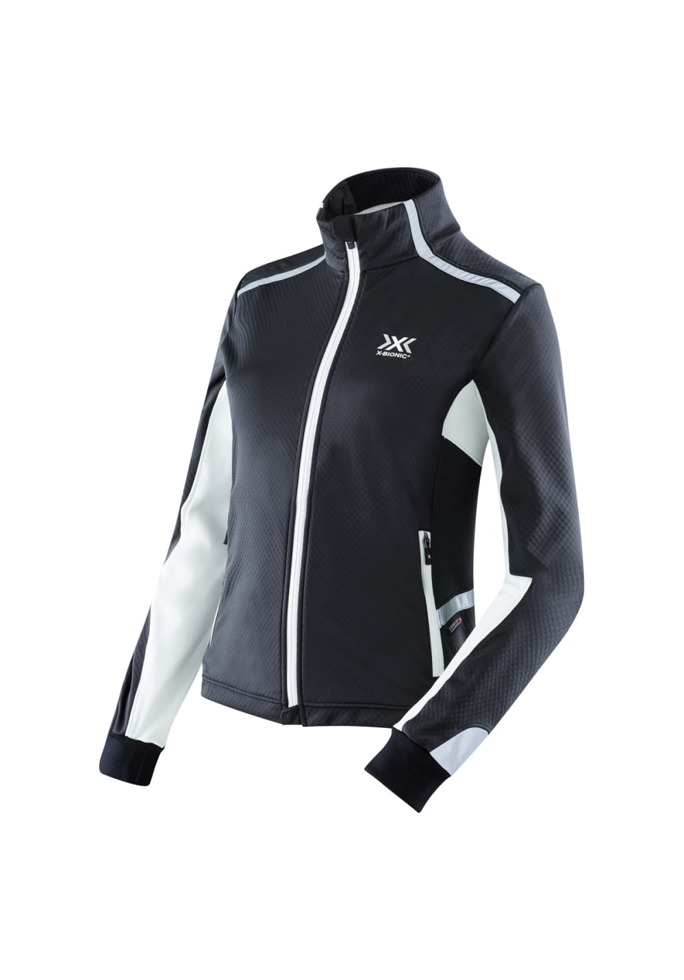 X-Bionic Running Winter Spherewind Light Jacket - Laufjacken für Damen - Schwar