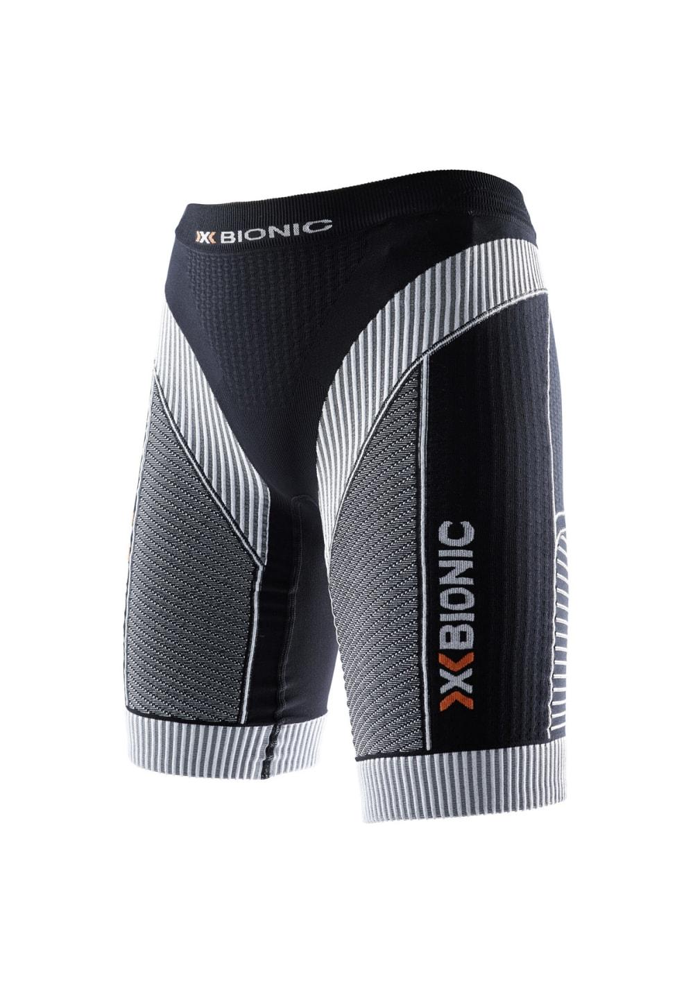 X-Bionic Effektor Running Powerpants Short - Laufhosen für Damen - Schwarz, Gr.