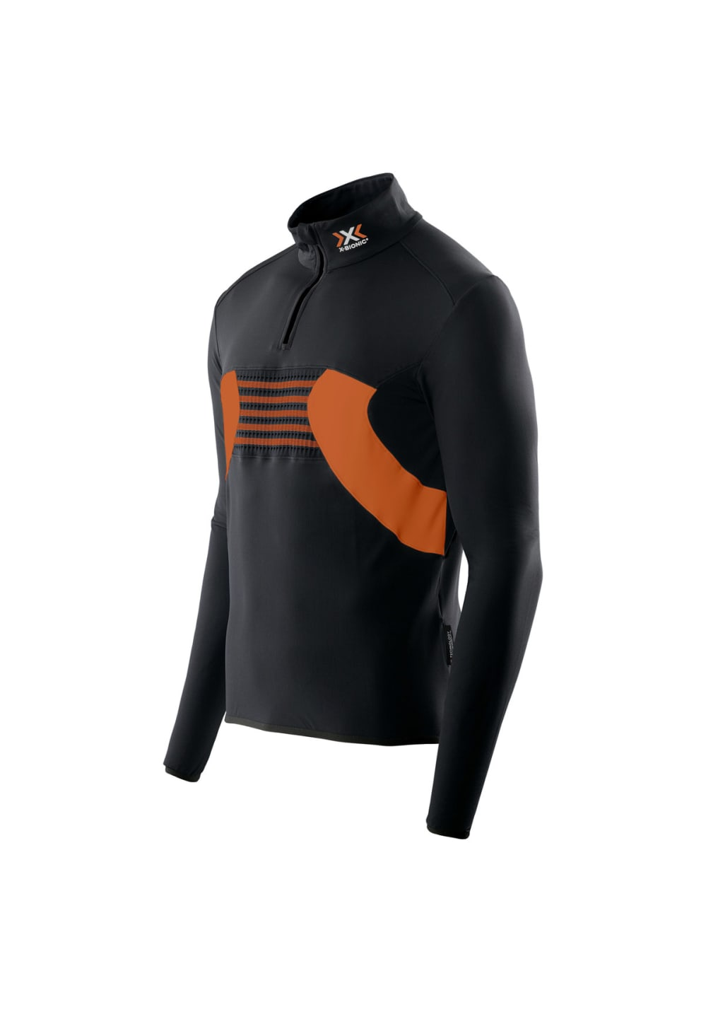 X-Bionic Racoon Ski Shirt Long Sleeves Zip Up Hommes Maillot course