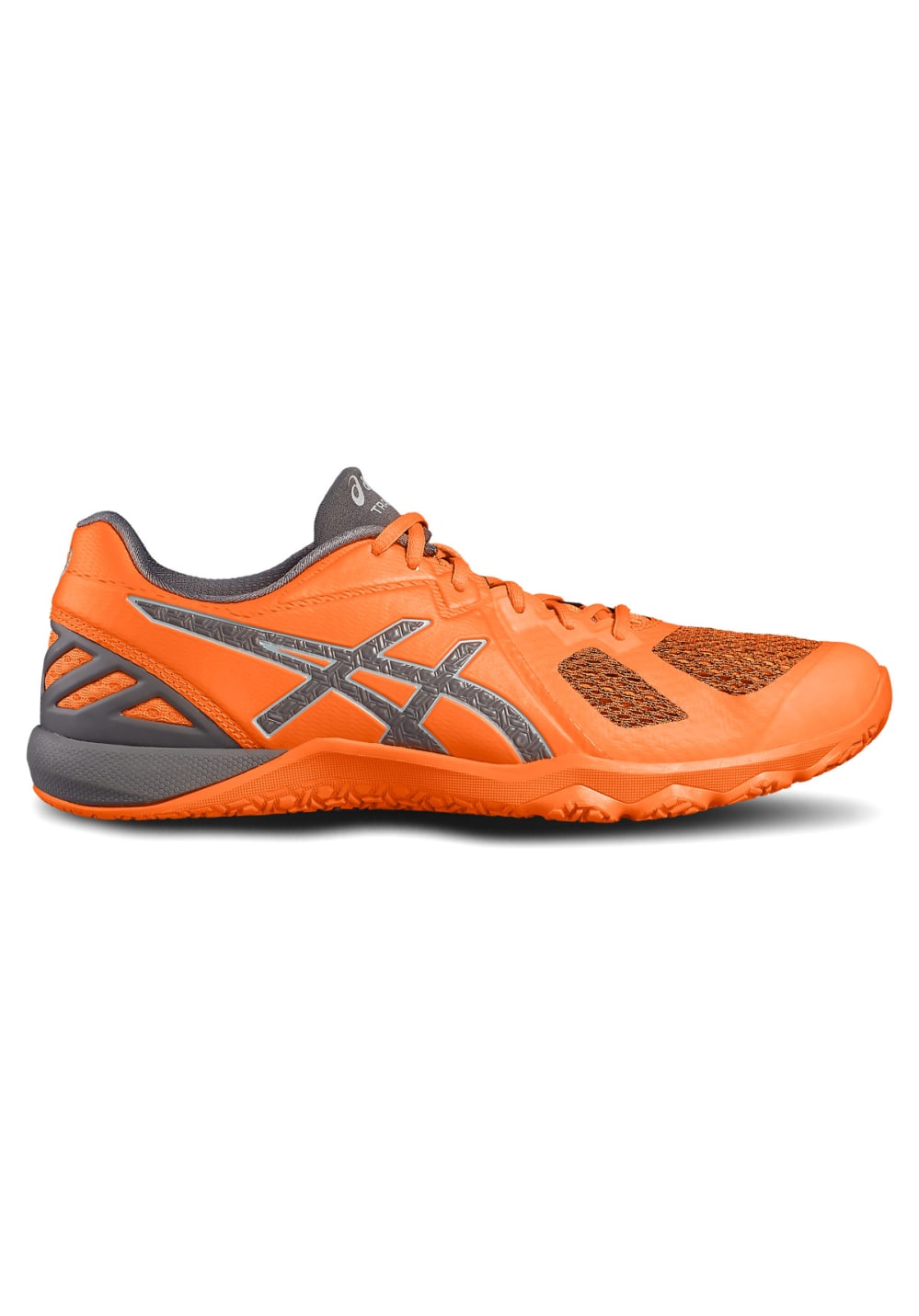 ASICS Conviction X - Fitnessschuhe für Herren - Orange, Gr. 47