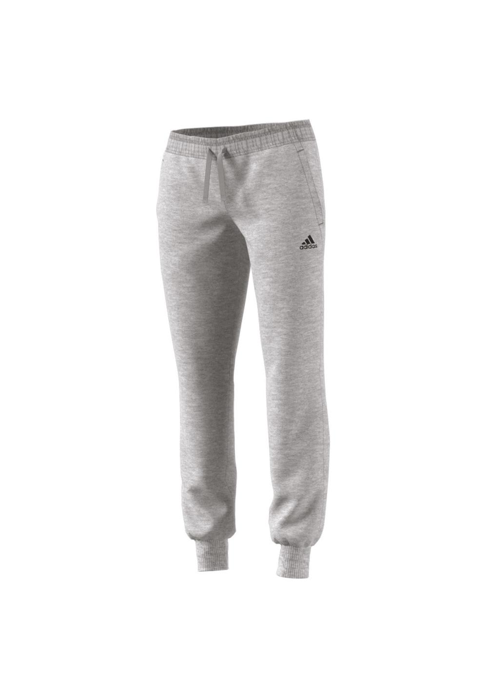 adidas Essentials Solid Pant - Fitnesshosen für Damen - Grau