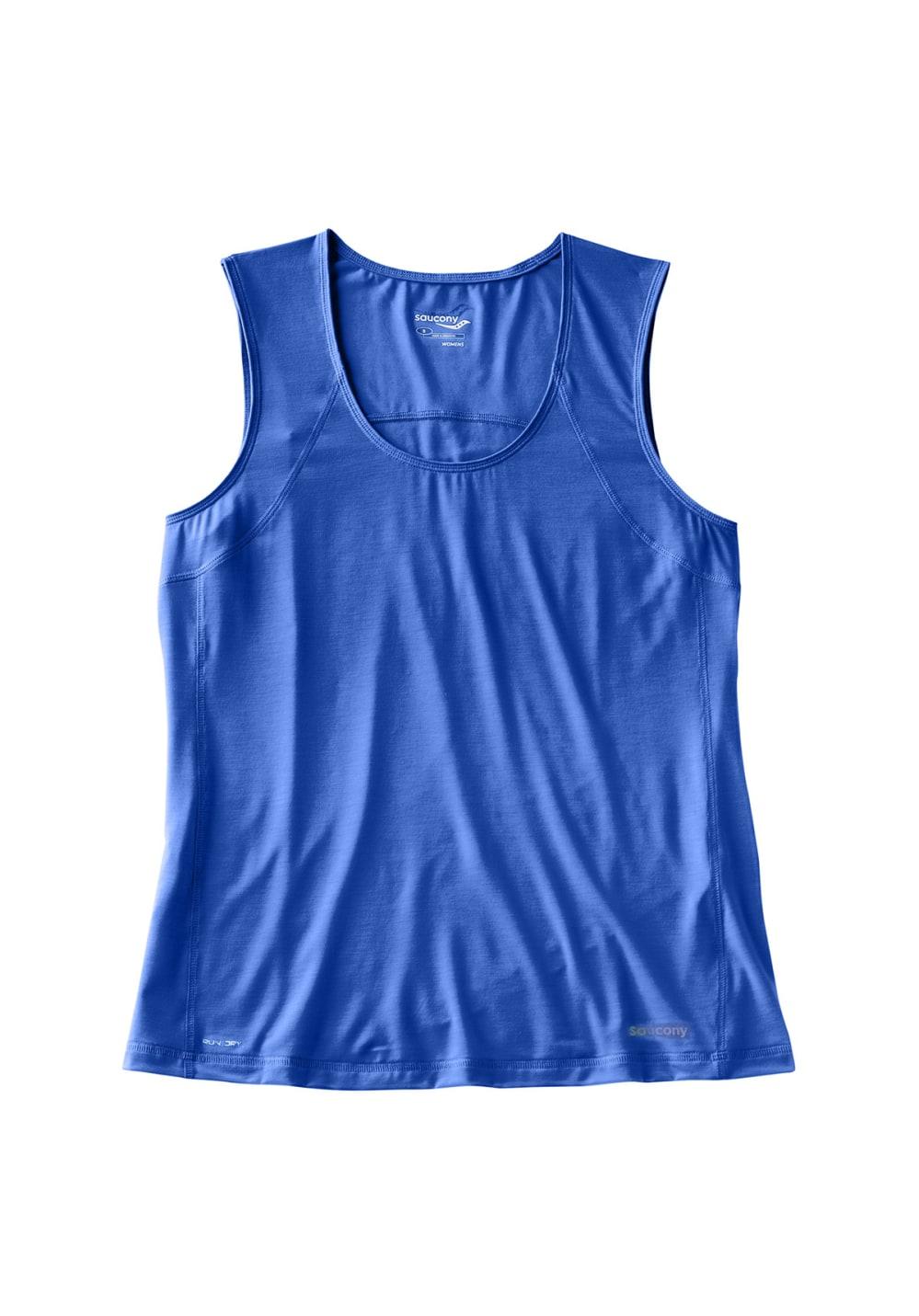 Saucony Freedom Sleeveless - Laufshirts für Damen - Blau, Gr. M