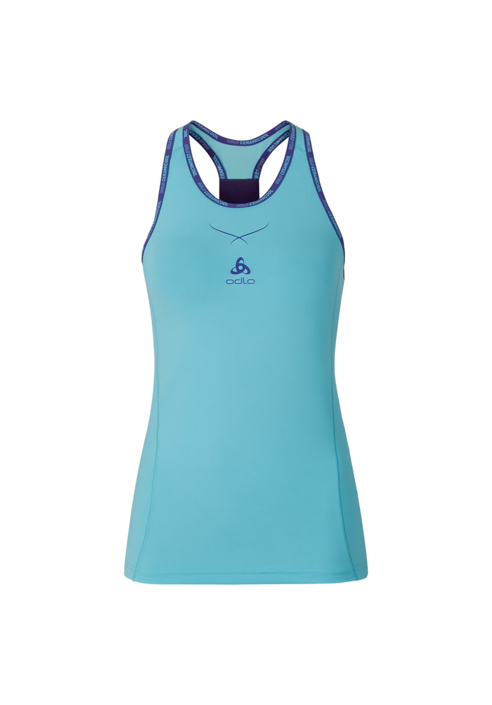 Odlo Shirt S/S Crew Neck Ceramicool Pro Print - Funktionsunterwäsche für Damen