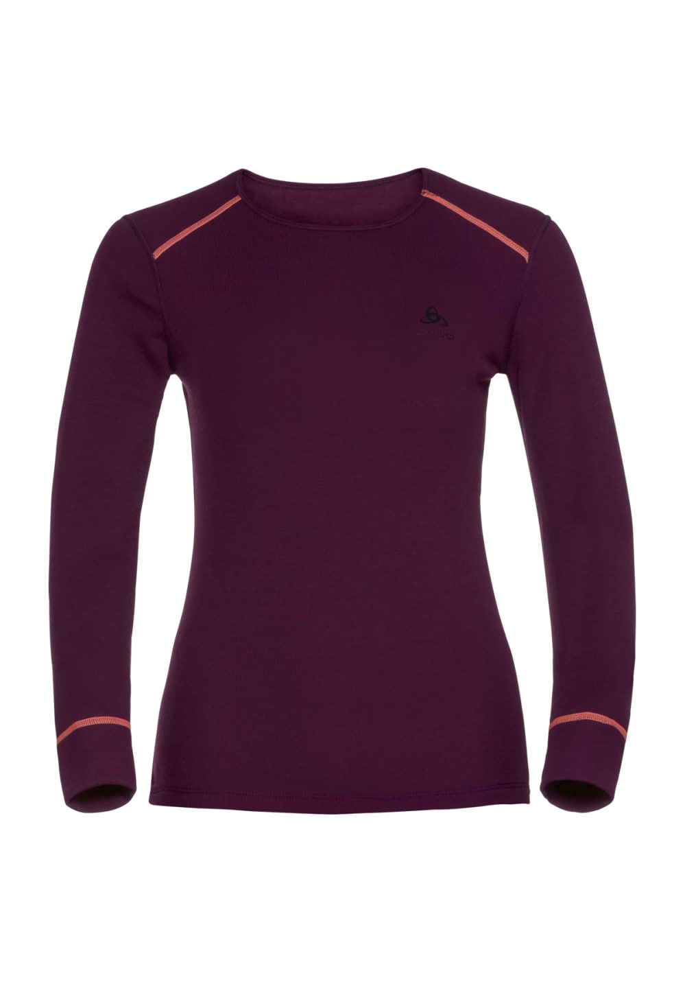 Odlo Long Sleeve Crew Neck Warm Femmes Maillot course