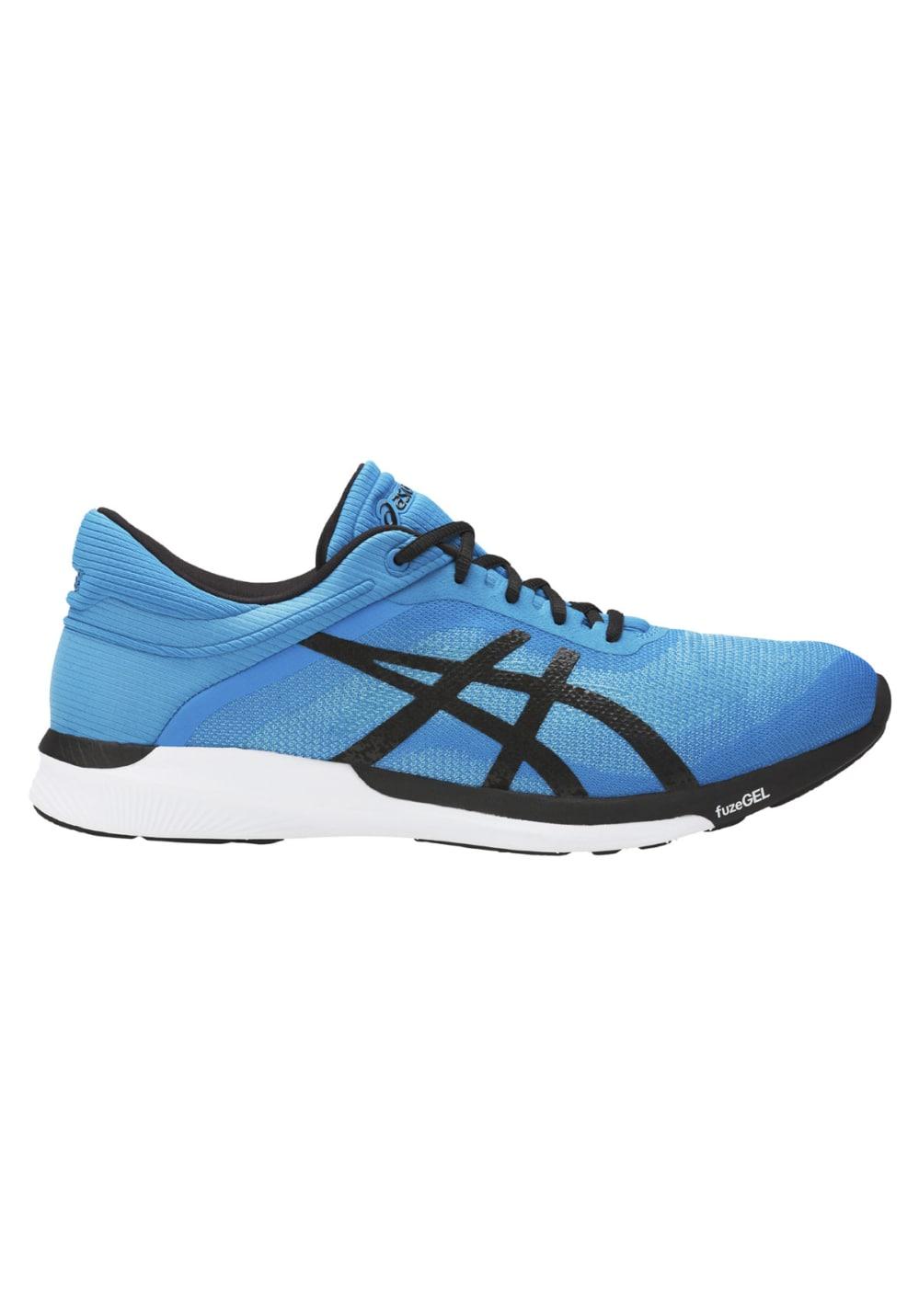 Chaussures Bleu Pour Homme Asics Running Rush Fuzex WQrCexdBo