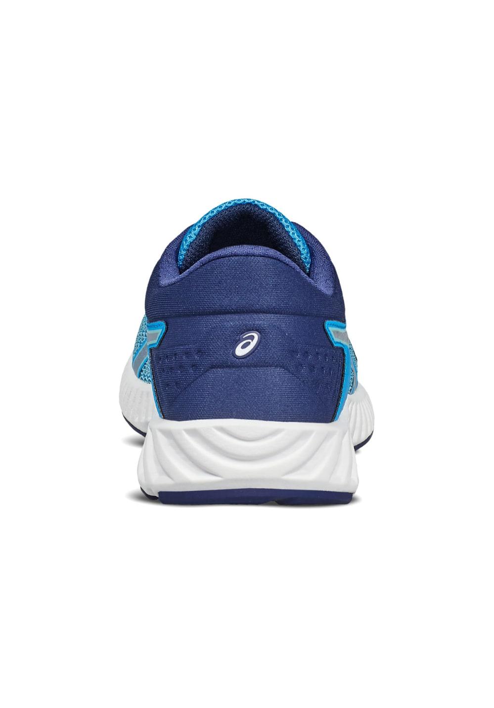 Fuzex Lyte Running Asics Chaussures Femme Pour Bleu 2 XiuZkP