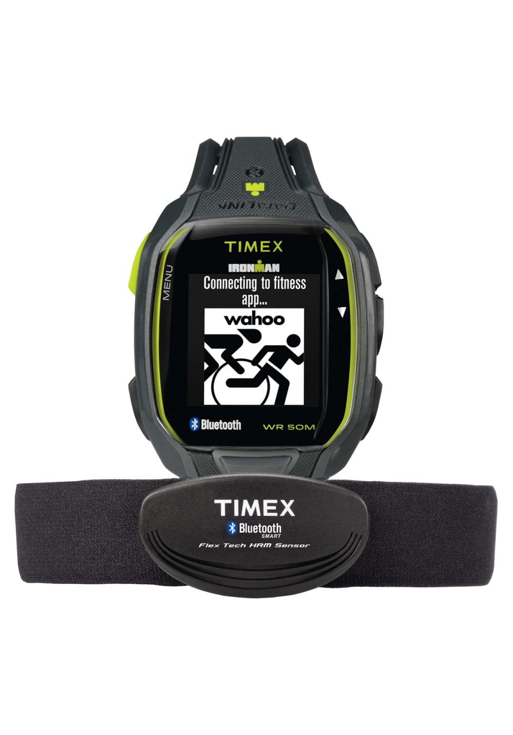 Timex Timex Ironman Run x50+ HRM - Herzfrequenz- & Sportuhren für Herren - Schwarz