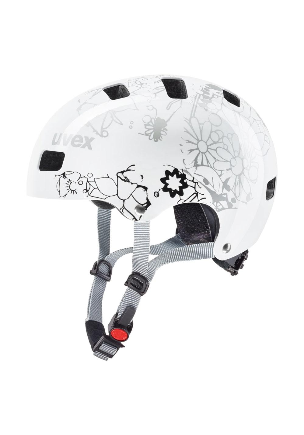 Uvex Kid 3 - Helme für Kinder Unisex - Weiß, Gr. 51-55 cm