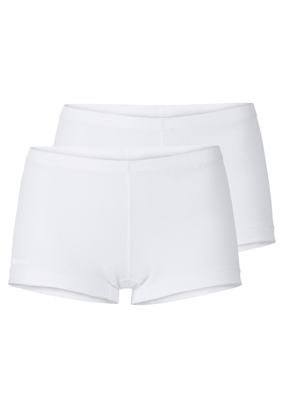Odlo Panty Cubic 2 Pack - Funktionsunterwäsche für Damen - Weiß, Gr. M