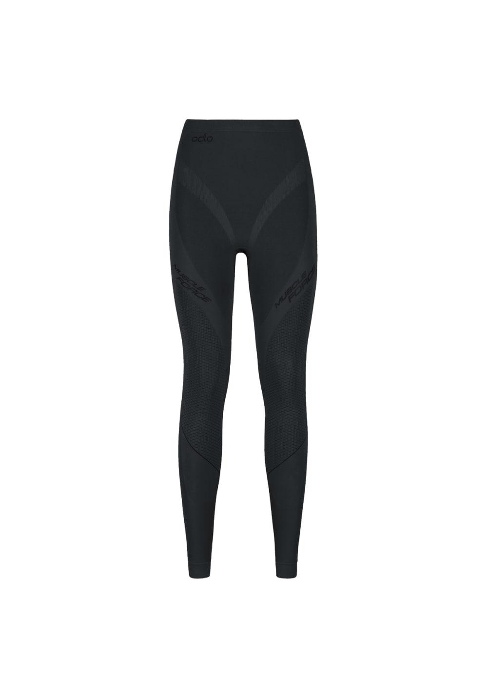 Odlo Pants Evolution Warm Muscle Force - Funktionsunterwäsche für Damen - Schw