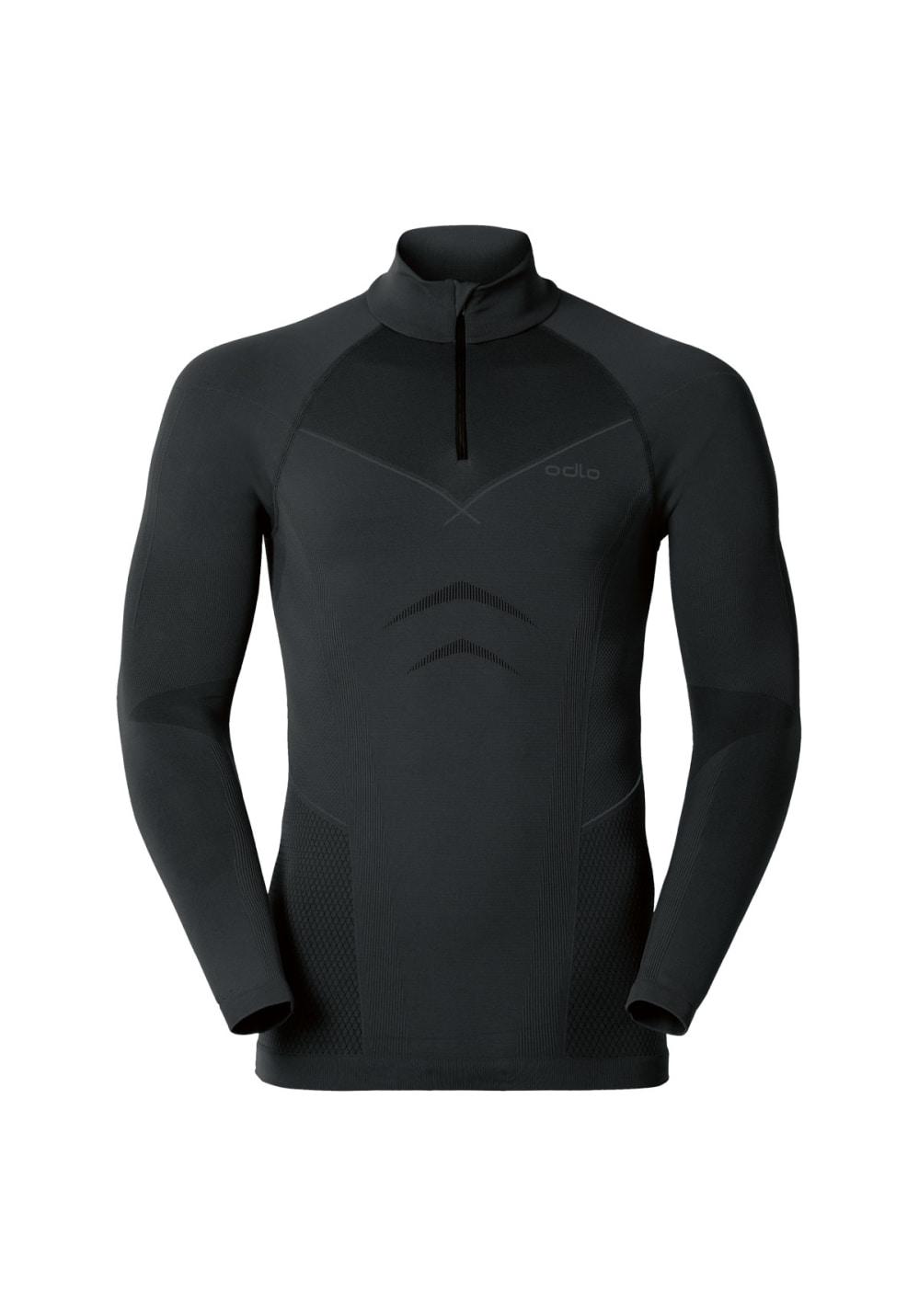 ODLO Shirt L/S Turtle Neck 1/2 Zip Evolution Funktionsunterwaesche Herren 42 - 4