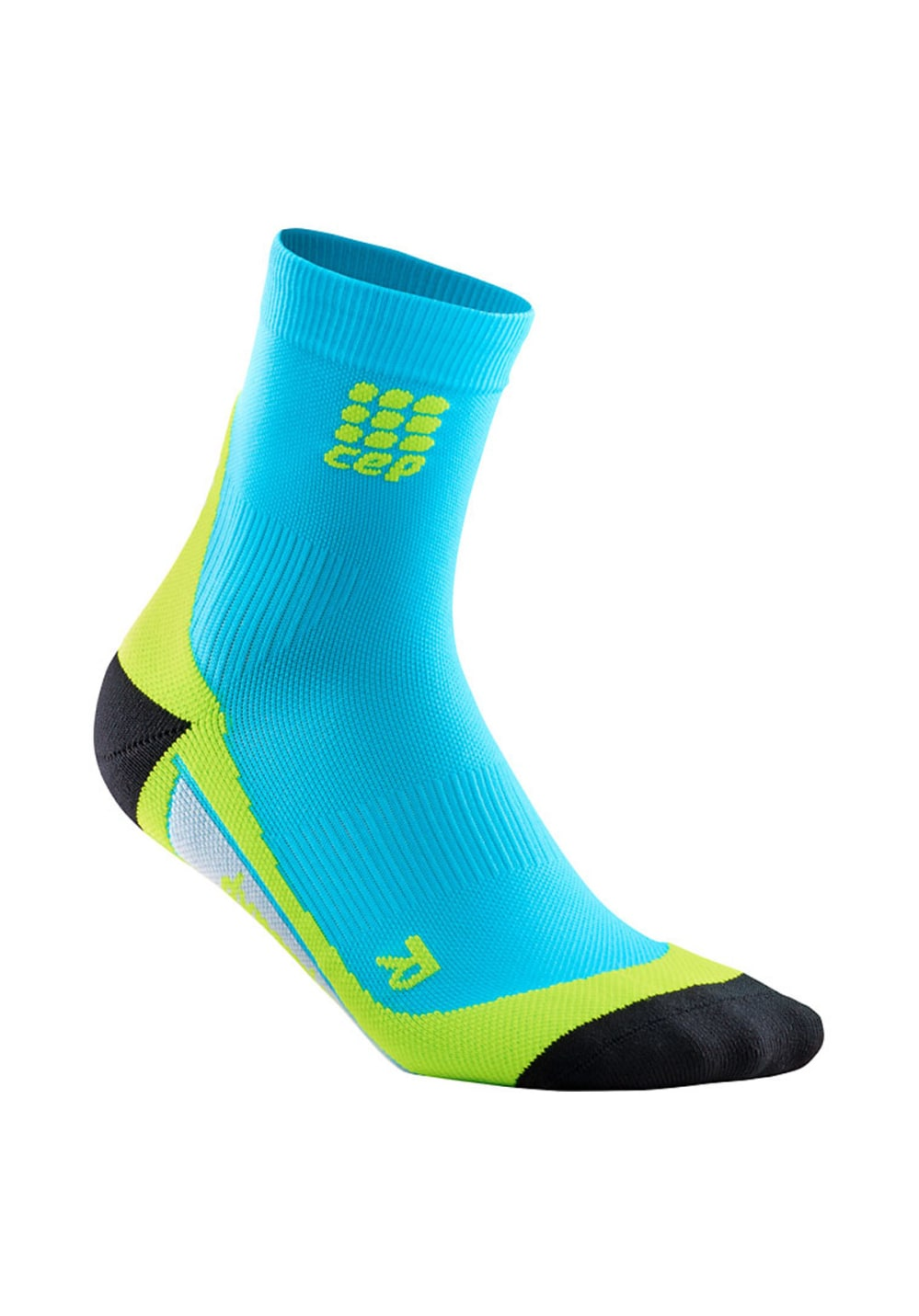 CEP Dynamic+ Short Socks Kompression Herren 26.5-29 cm, Gr. 26.5-29 cm