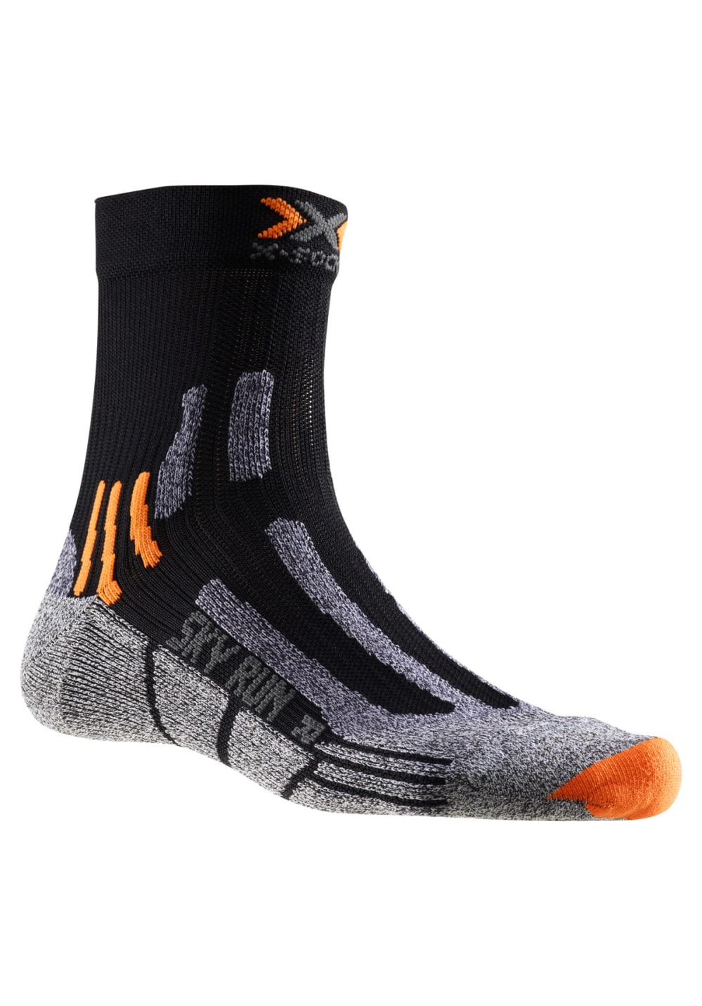 X-Socks Sky Run Two Laufsocken - Schwarz
