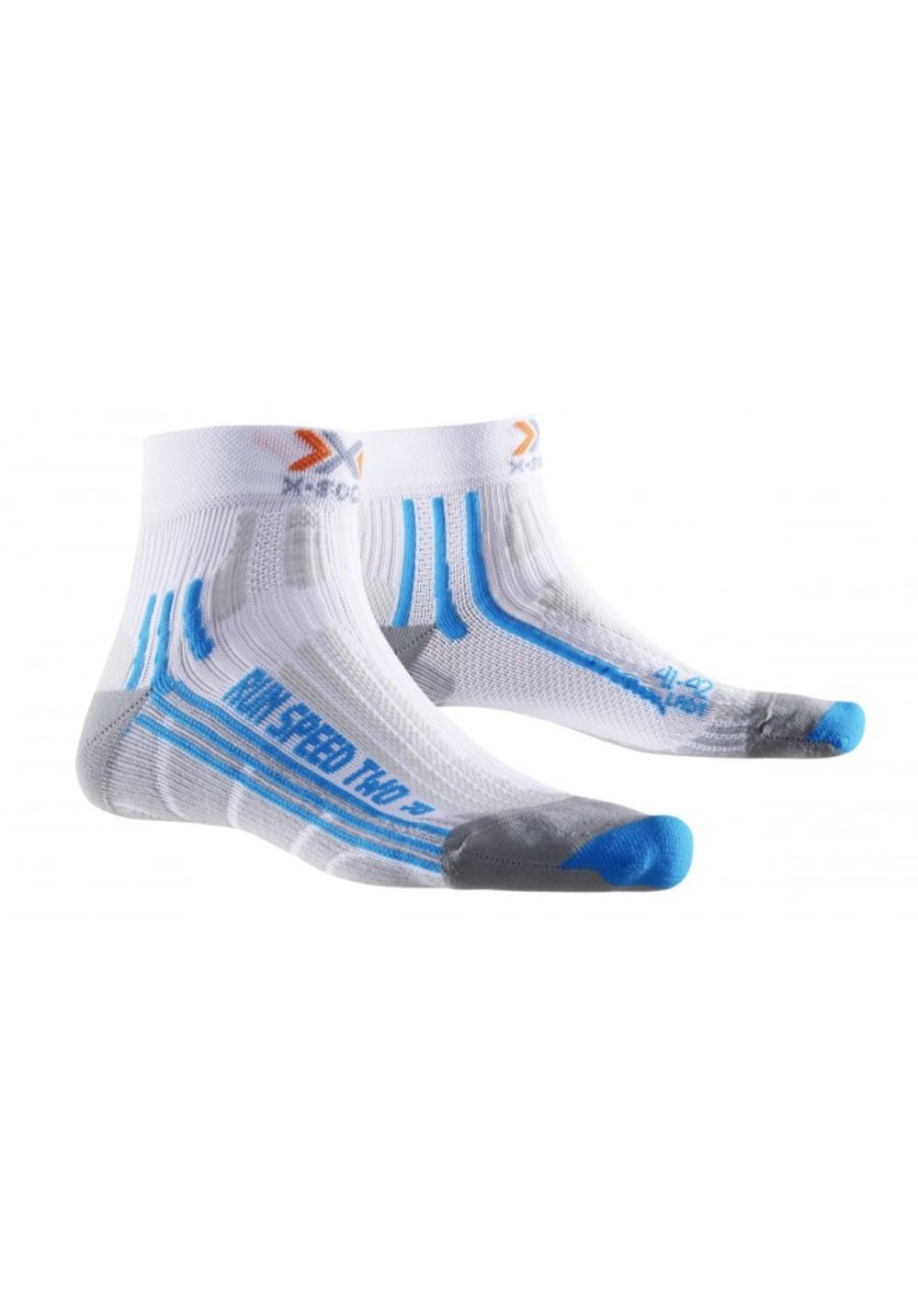 X-Socks Run Speed Two Laufsocken - Weiß, Gr. 39-40