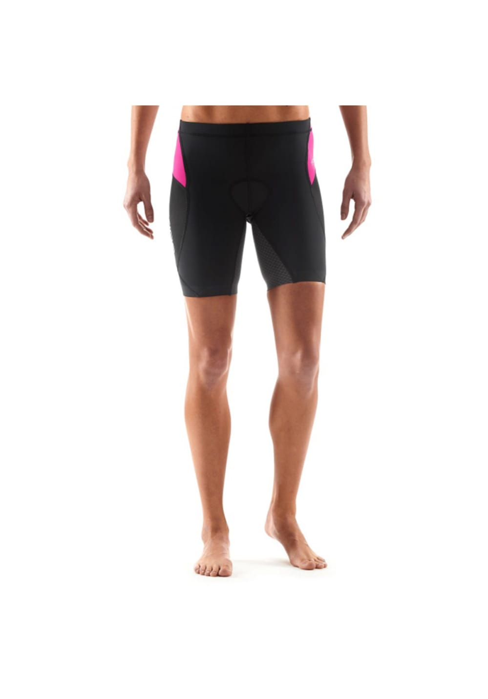 Skins Tri 400 Short - Laufhosen für Damen - Schwarz, Gr. FXS
