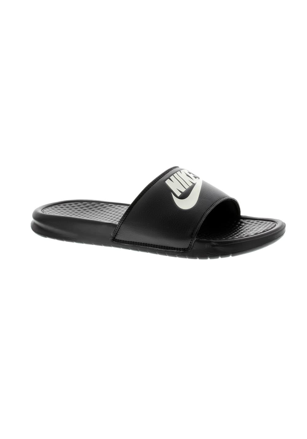 best deals on cb715 31677 Nike Benassi JDI - Tongs pour Homme - Noir   21RUN