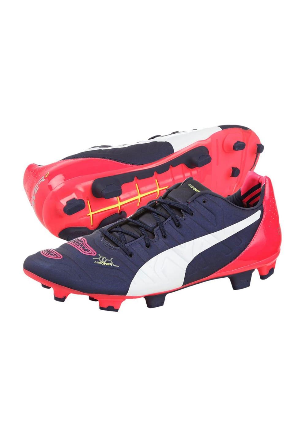 Puma evoPOWER 2.2 FG Chaussures de foot pour Homme Noir