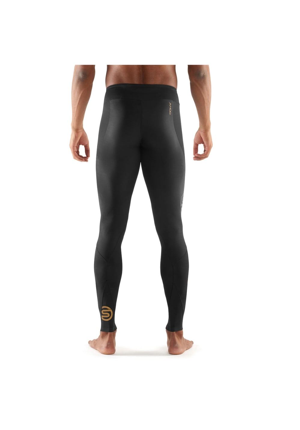 478c3cdce461c Skins A400 Long Tights - Running trousers for Men - Black | 21RUN