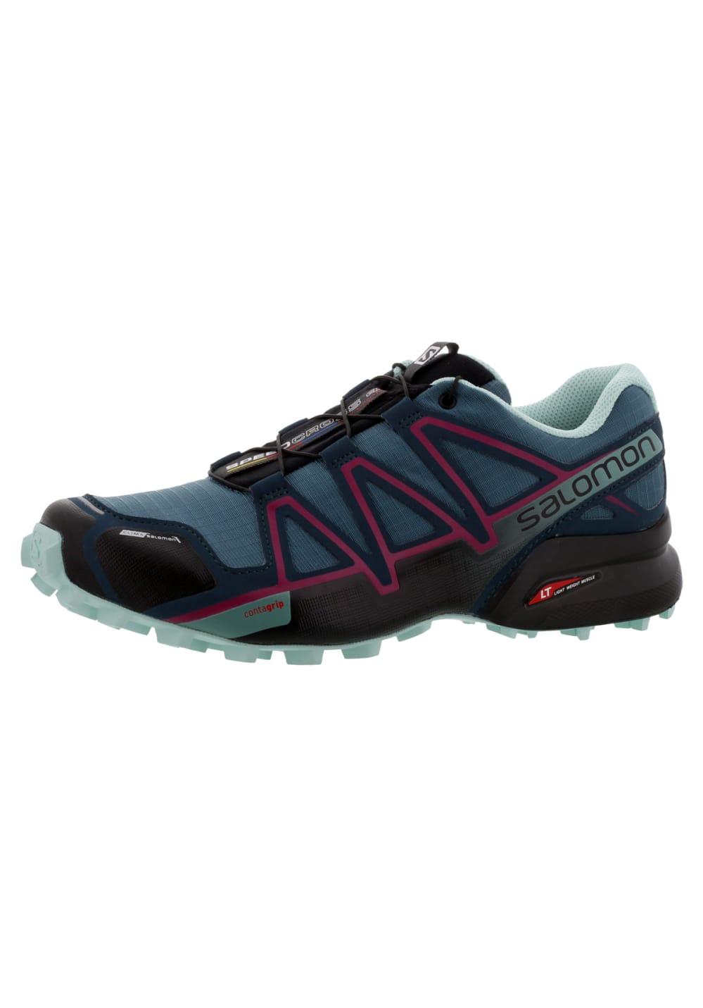 a7a9a4a46 Salomon Speedcross 4 CS - Running shoes for Women - Blue