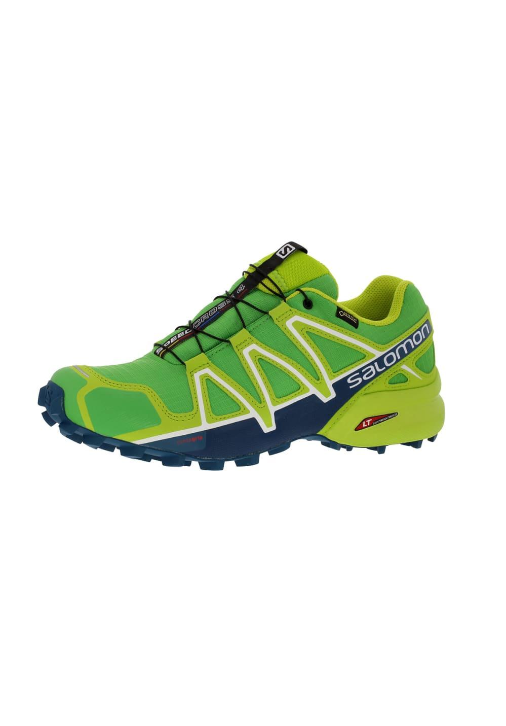 revendeur 0e96e ec35f Salomon Speedcross 4 GTX - Running shoes for Men - Green