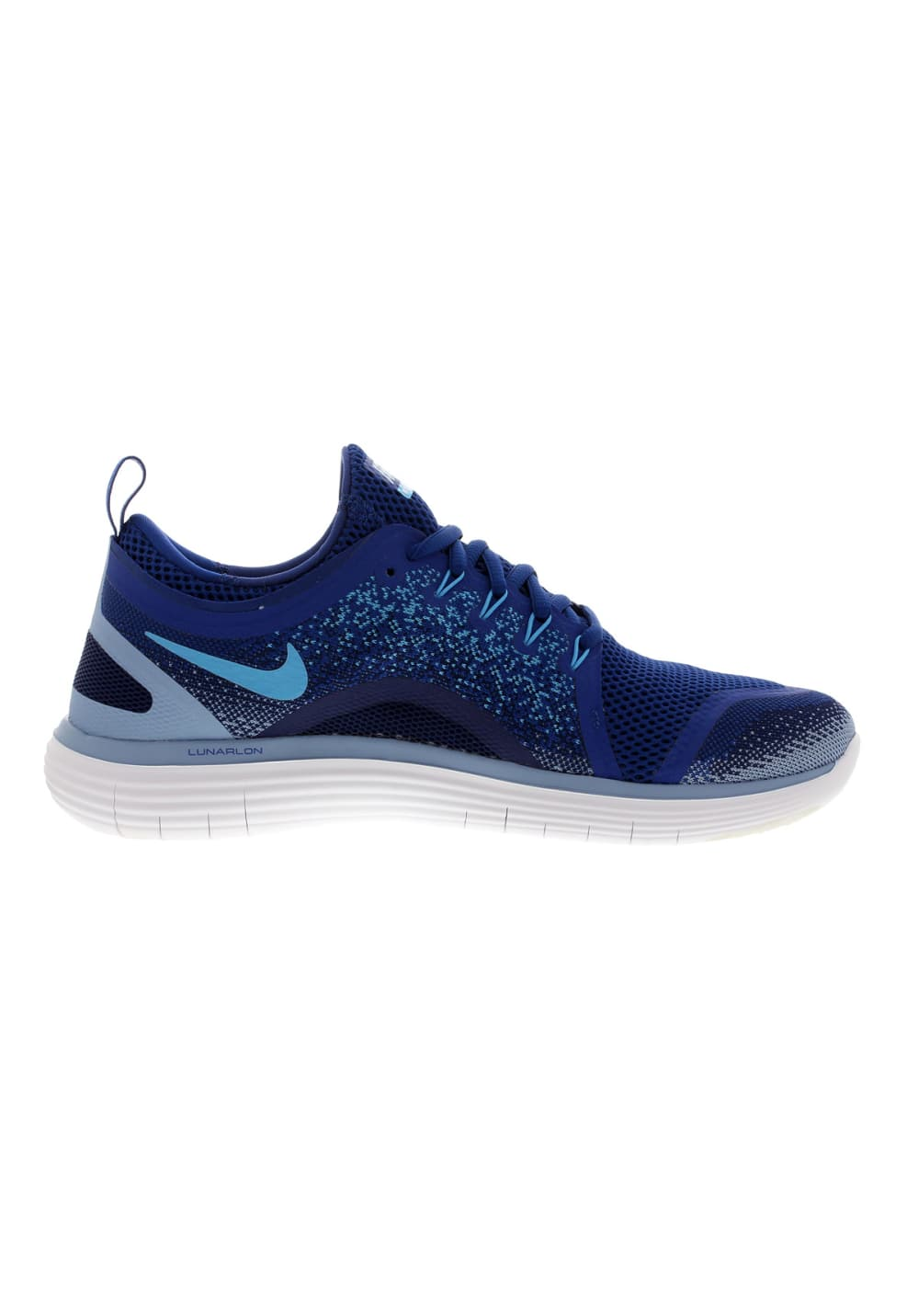 Nike Free RN Distance 2 Chaussures running pour Homme Bleu