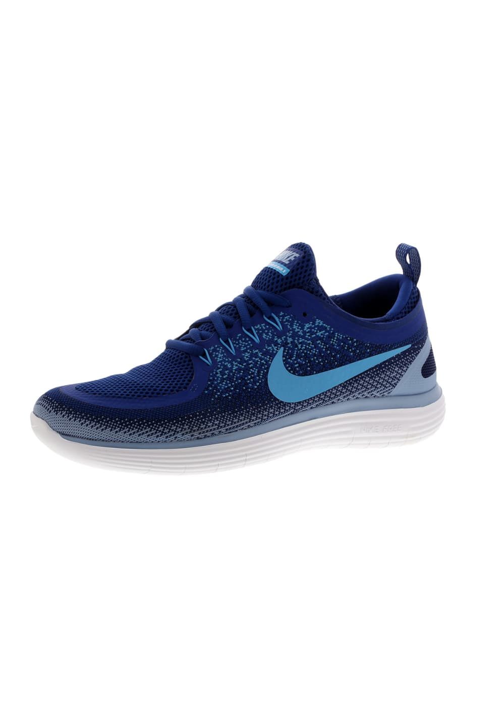Nike Free RN Distance 2 - Running shoes for Men - Blue
