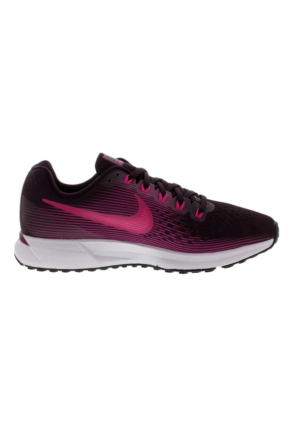 livraison gratuite d2cbc d6c09 Nike Air Zoom Pegasus 34 - Chaussures running pour Femme - Violet
