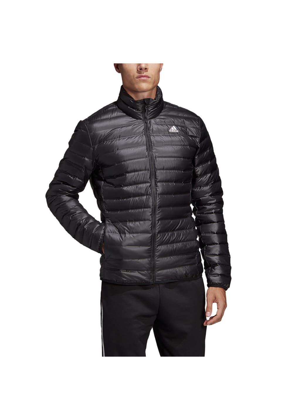 Outdoor wear Terrex jumper cold protection thermal insulation cold measures sports casual wear black navy DKQ80 for the down jacket men Adidas