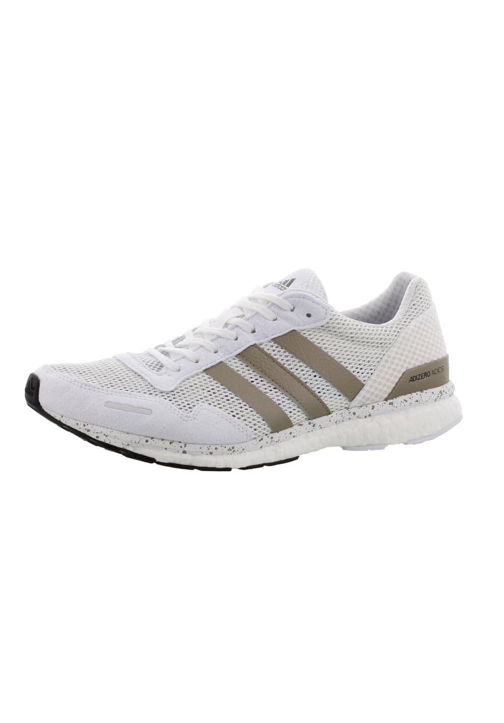 new product 06aa1 9e11e adidas adiZero Adios - Running shoes for Men - White