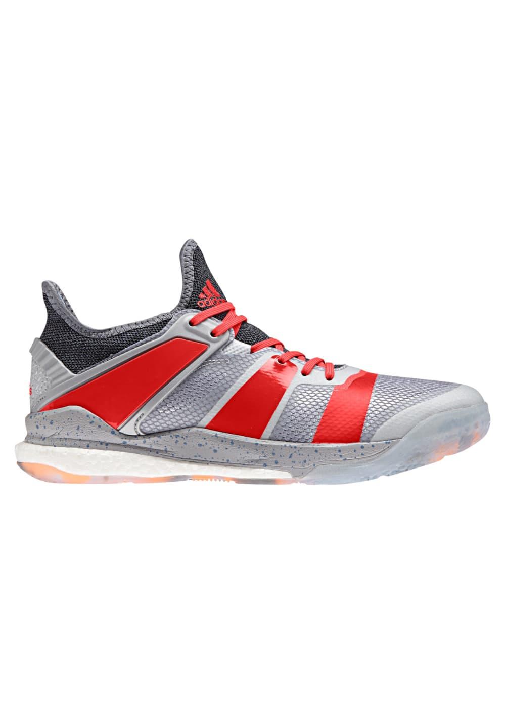 best service 8d1e3 75078 adidas Stabil X - Handball shoes for Men - Silver