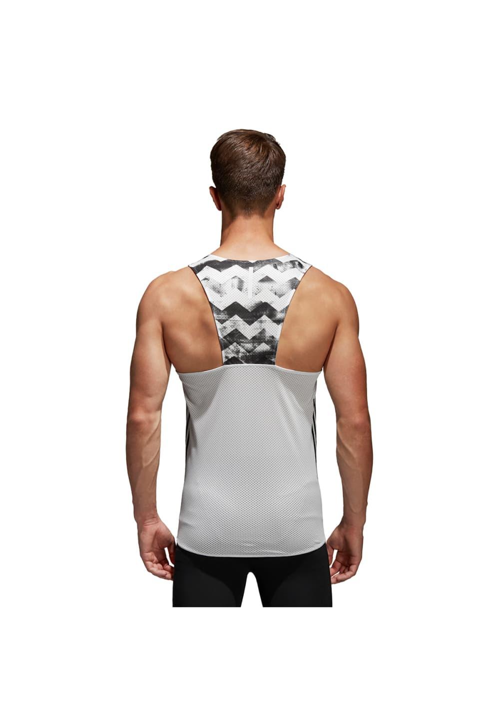 c1eae02c69f adidas Adizero Singlet Men - Running tops for Men - White | 21RUN