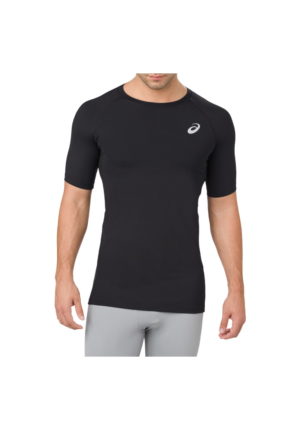 b4b72e96f2 ASICS Base Layer Top - Running tops for Men - Black