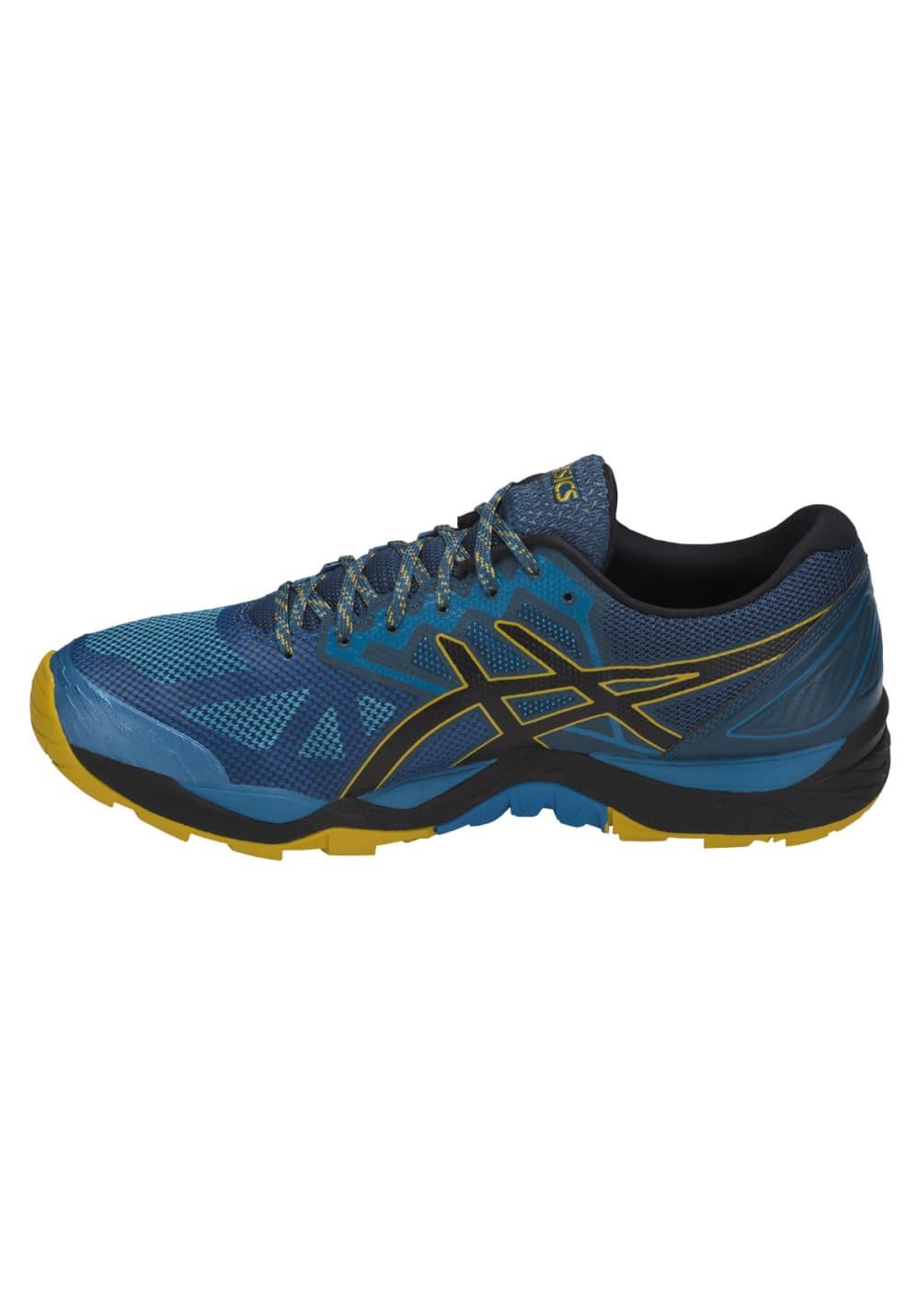 ASICSGEL-FUJITRABUCO 6 - Trail running shoes - deep aqua/black