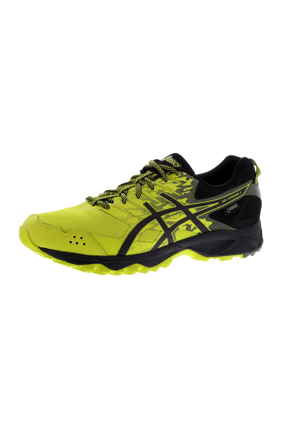 pretty nice 5c490 f7afa ASICS GEL-Sonoma 3 G-TX - Running shoes for Men - Black | 21RUN