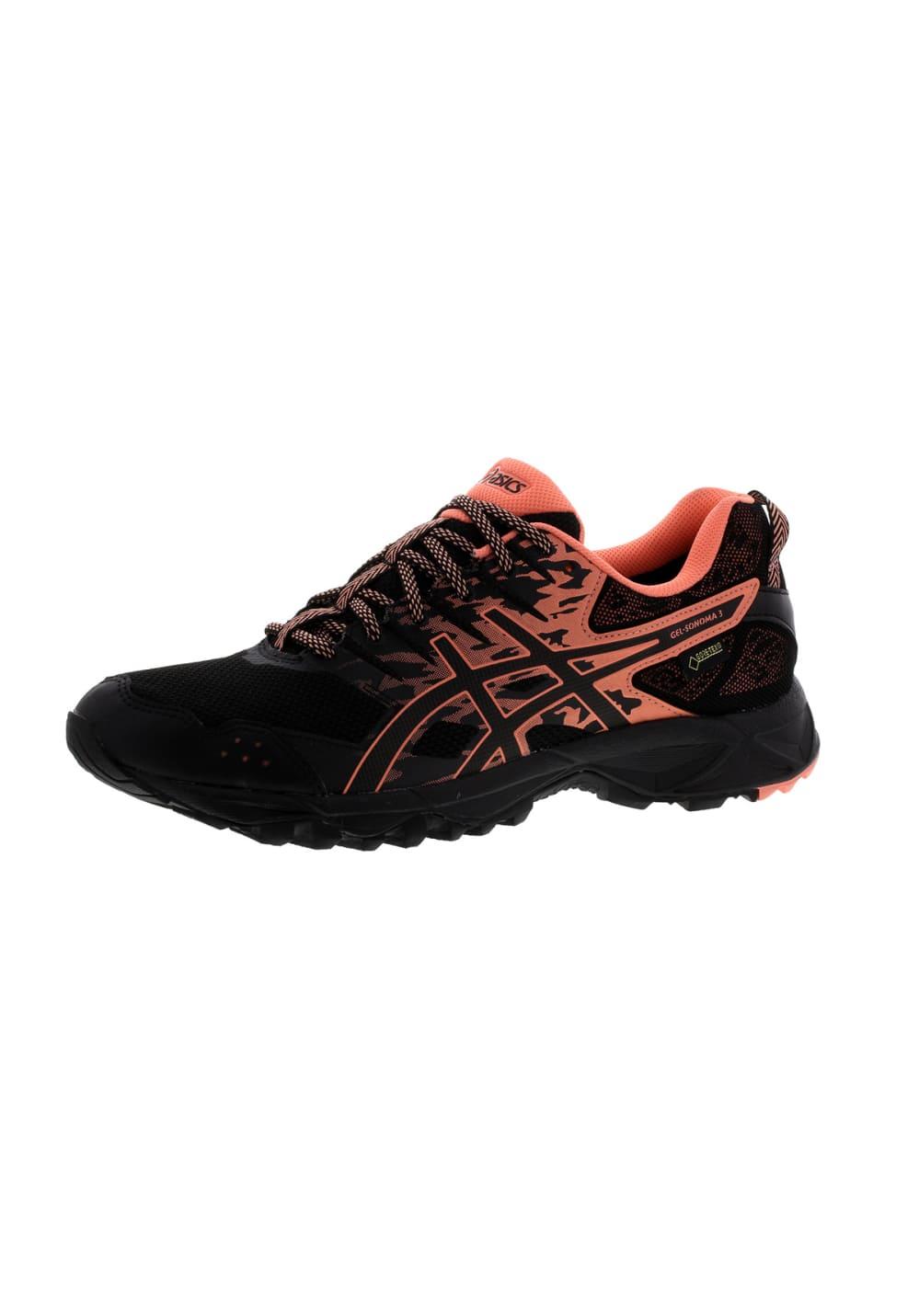 ASICS GEL Sonoma 3 G TX Zapatillas de running para Mujer Negro