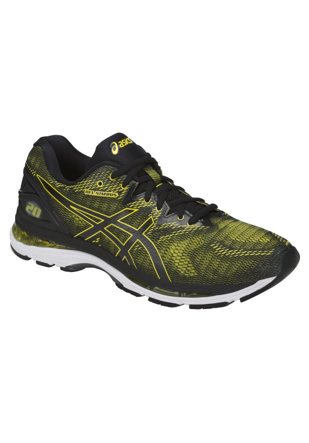 info pour 34a6e 94540 ASICS GEL-Nimbus 20 - Running shoes for Men - Black