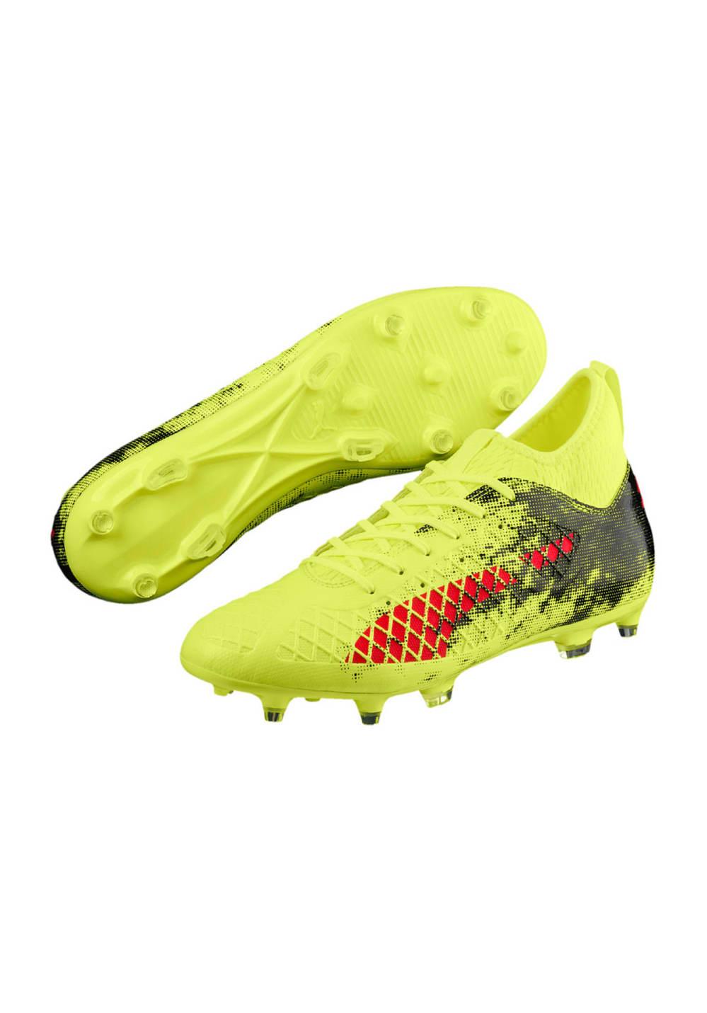 Puma FUTURE 18.3 FGAG Chaussures de foot pour Homme Jaune
