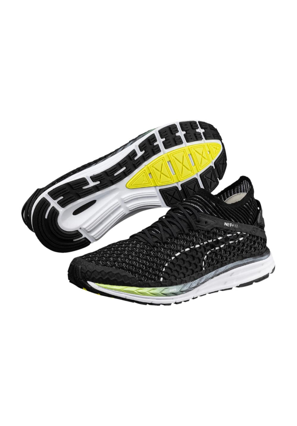 6e24f7c4c71bc Puma Speed IGNITE NETFIT 2 - Running shoes for Men - Black